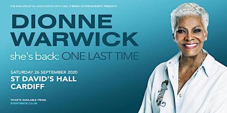 Dionne Warwick 2020 (St David's Hall, Cardiff) tickets