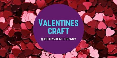 Valentines Craft @ Bearsden Library tickets