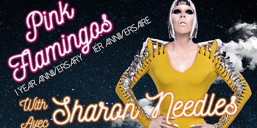 Pink Flamingos One Year Anniversary Party with Sharon Needles