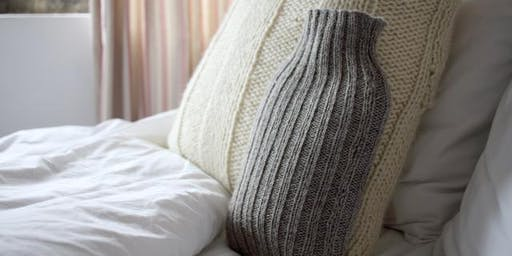 Learn to Knit : Hot Water Bottle Cover