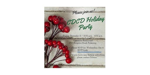 CDCD Holiday Party