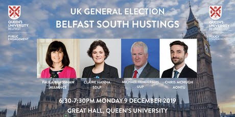 Belfast South Hustings tickets