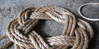 Barter Based Event: Rope Wreath Workshop  with Andy