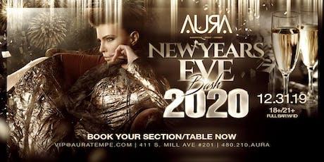 NYE BASH @ Aura Nightclub tickets