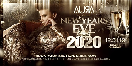 NYE BASH @ Aura Nightclub tickets