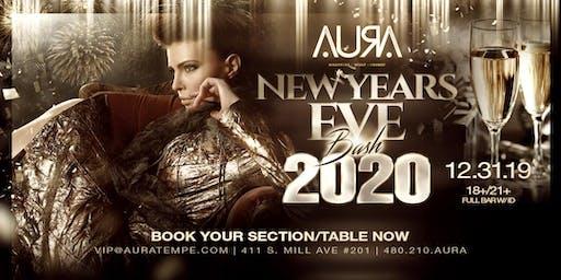 NYE BASH @ Aura Nightclub