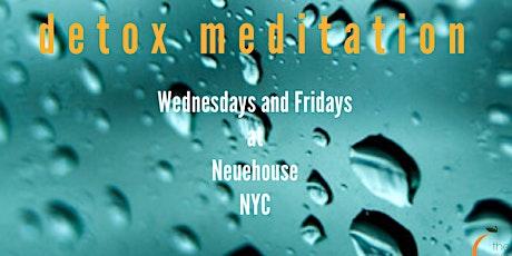 Detox Meditation tickets