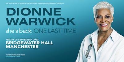 Dionne Warwick 2020 (Bridgewater Hall, Manchester)