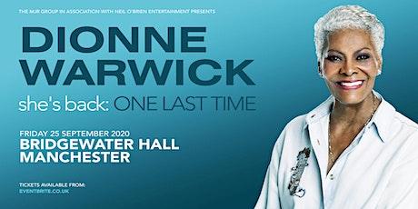 Dionne Warwick 2020 (Bridgewater Hall, Manchester) tickets