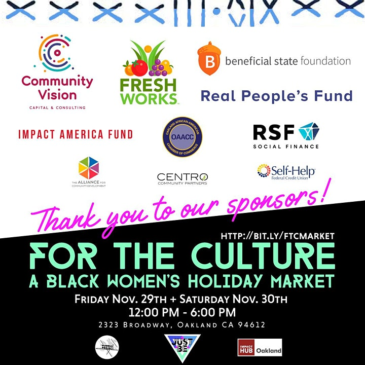 For the Culture: Black Women's Holiday Market image