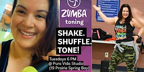 Zumba™ Toning with Lis at Pura Vida Studio (NW Wpg) tickets