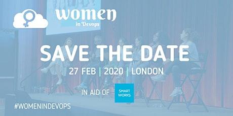 Women in DevOps - Save the date tickets