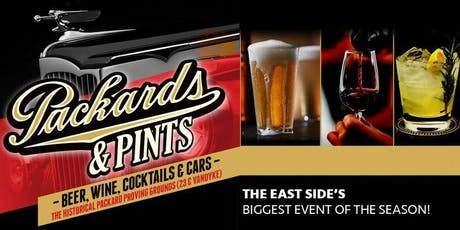 Packards and Pints 2020 - Beer, Wine, Cocktails and Cars tickets