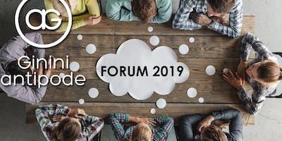 Forum 2019 G&A