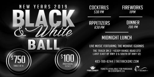 2019 New Years Eve - Black & White Ball