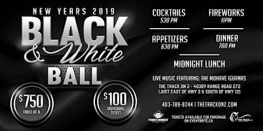 2019 New Years Eve - Black & White Ball