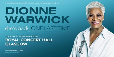 Dionne Warwick 2020 (Royal Concert Hall, Glasgow)