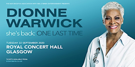 Dionne Warwick 2020 (Royal Concert Hall, Glasgow) tickets