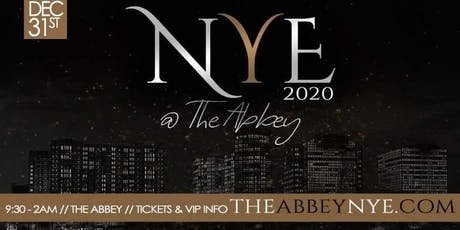 [Orlando] New Year's Eve @ The Abbey 2020 tickets