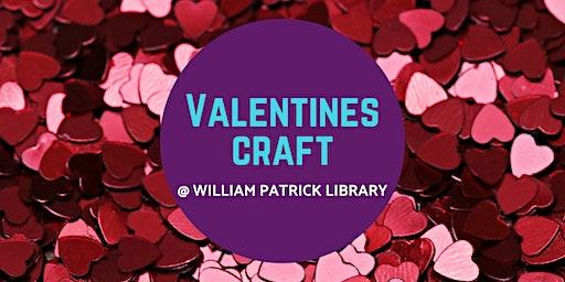Valentines Craft @ William Patrick Library
