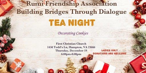 Tea Night - Cookie Decoration