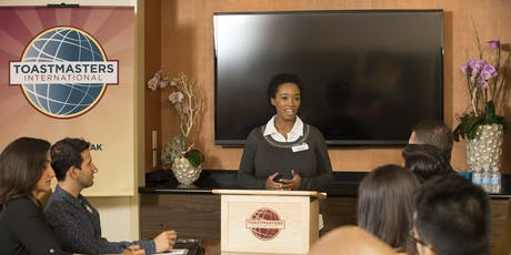 Build a better you with Toastmasters tickets