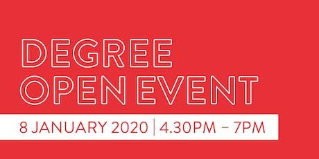 Newcastle College University Centre Degree Open Event   tickets