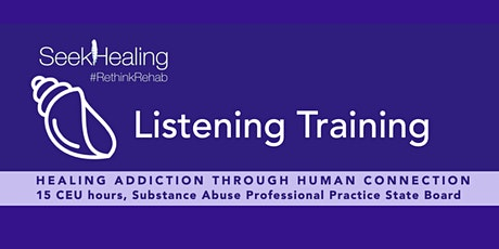 Listening Training for Clinical Professionals tickets