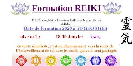 Formation REIKI niveau 1 billets
