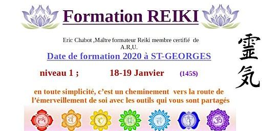 Formation REIKI niveau 1