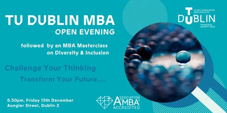 TU Dublin MBA Open Evening tickets