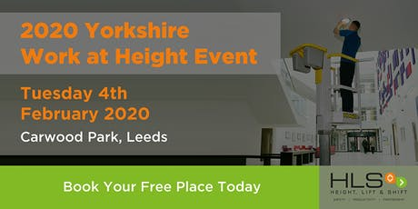 2020 YORKSHIRE WORK AT HEIGHT EVENT tickets