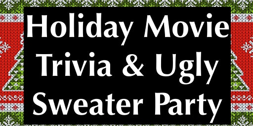 The ugliest of sweater parties