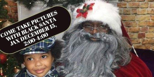 Meet & Take Pictures with Black Santa Jax