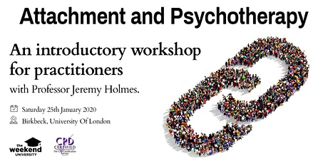 Attachment Theory & Psychotherapy tickets