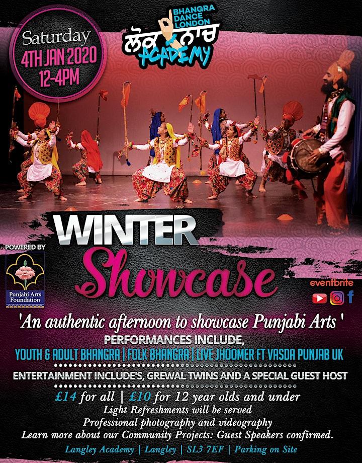 Bhangra Dance London Winter Showcase image