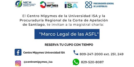Marco Legal de las ASFL entradas