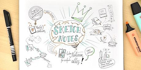 Sketch Notes - bildliche Notizen für einfach alles! Tickets