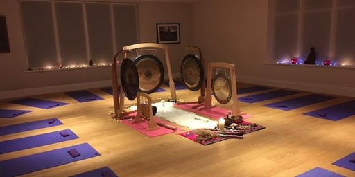 AMETHYST YOGA NEWBURY - NEW MOON GONG AND SOUND MEDITATION