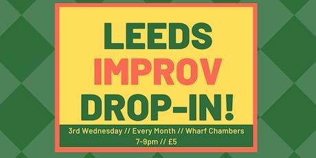 Leeds Improv. Drop-in tickets
