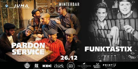 Winterbar Mirage Mechelen: Studio Mirage met Pardon Service & Funktastix billets