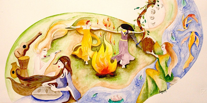 """Women's Handpan Gathering - """"The Sound of Sisters"""" image"""