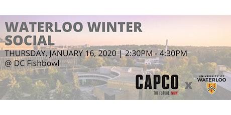 CAPCO - University of Waterloo Winter Social 2020 tickets
