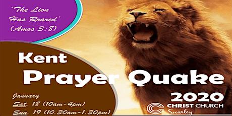 Kent Prayer Quake 2020 tickets