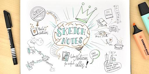 Sketch Notes - bildliche Notizen für einfach alles! - GRAZ