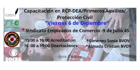 RCP-DEA/Primeros Auxilios/PC entradas