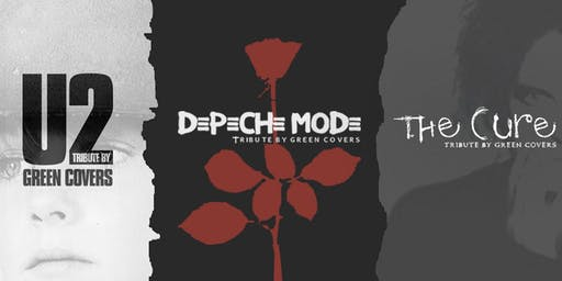 U2, Depeche Mode & The Cure by Green Covers en Valladolid