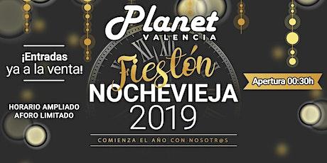 Fiestón de Nochevieja 2019 en PlanetValencia entradas