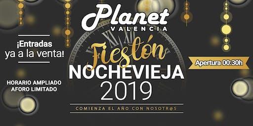 Fiestón de Nochevieja 2019 en PlanetValencia