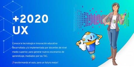 """+2020 UX: """"Experiencias en el aula"""" boletos"""
